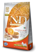 N&D LOW GRAIN CODFISH & ORANGE ADULT MINI 800 GR