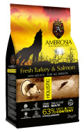 AMBROSIA GRAIN FREE HOLISTIC MINI TURKEY & SALMON 2 KG