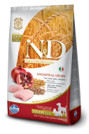 N&D LOW GRAIN CHICKEN & POMEGRANATE SENIOR MINI-MEDIUM 800 GR