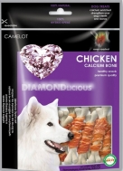 DIAMONLICIOUS CHICKEN CALCIUM BONES 100 GR