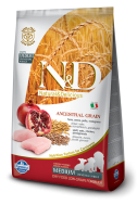 N&D LOW GRAIN CHICKEN & POMEGRANATE PUPPY MEDIUM 12 KG