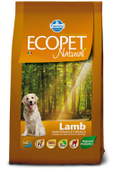 ECOPET NATURAL ADULT LAMB MEDIUM 2,5 KG