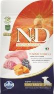 N&D GRAIN FREE PUMPKIN LAMB & BLUEBERRY PUPPY MINI 800 GR