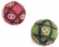 VINYL BALL - RING PRINTED 8 cm