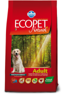 ECOPET NATURAL ADULT CHICKEN MEDIUM 2,5 KG