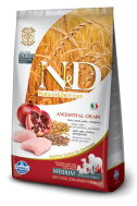 N&D LOW GRAIN CHICKEN & POMEGRANATE ADULT MEDIUM 2,5 KG