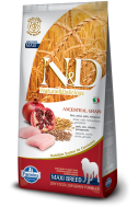 N&D LOW GRAIN CHICKEN & POMEGRANATE ADULT MAXI 2,5 KG