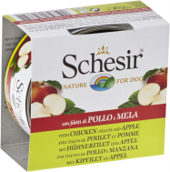 SCHESIR DOG FRUIT CHICKEN FILLETS & APPLE 150 GR
