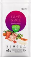 NATURA DIET LAMB & RICE + SALMON 500 GR