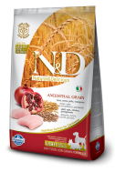 N&D LOW GRAIN CHICKEN & POMEGRANATE LIGHT MINI-MEDIUM 800 GR