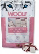 WOOLF SNACKS SOFT SANDWICH OF DUCK 100 GR