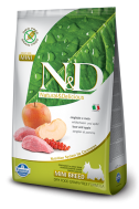 N&D GRAIN FREE BOAR & APPLE ADULT MINI 2,5 KG