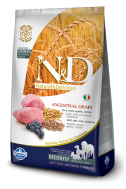 N&D LOW GRAIN LAMB & BLUEBERRY ADULT MEDIUM 2,5 KG