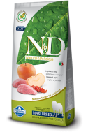 N&D GRAIN FREE BOAR & APPLE ADULT MAXI 12 KG