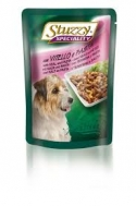 STUZZY DOG SPECIALITY POUCHES BEEF & PASTA 100 GR