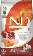 N&D GRAIN FREE PUMPKIN CHICKEN & POMEGRANATE ADULT MEDIUM/MAXI 2,5 KG