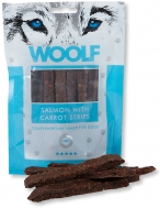 WOOLF SNACKS SALMON WITH CARROT STRIPS 100 GR