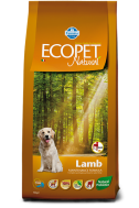 ECOPET NATURAL ADULT LAMB MAXI 12 KG