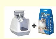 PROMOBOX CAT TOILET JUMBO + PATIMAX 12 LT
