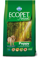 ECOPET NATURAL PUPPY CHICKEN MEDIUM 2,5 KG