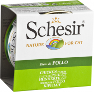 SCHESIR CAT IN JELLY CHICKEN FILLETS 85 GR