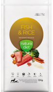 NATURA DIET FISH & RICE  12 KG