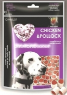 DIAMONLICIOUS CHICKEN & POLLOCK 100 GR