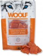 WOOLF SNACKS CHICKEN & CARROT BITES 100 GR
