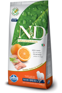 N&D GRAIN FREE FISH & ORANGE ADULT MAXI 12 KG