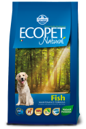 ECOPET NATURAL ADULT FISH MEDIUM 2,5 KG