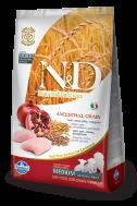 N&D LOW GRAIN CHICKEN & POMEGRANATE PUPPY MEDIUM 2,5 KG