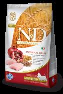 N&D LOW GRAIN CHICKEN & POMEGRANATE ADULT MINI 2,5 KG