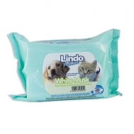 LINDO PET CARE WET WIPES WHITE MUSK 40 ΤΕΜΑΧΙΑ