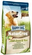 HAPPY DOG NATURCROQ ADULT LAMB & RICE 4 KG